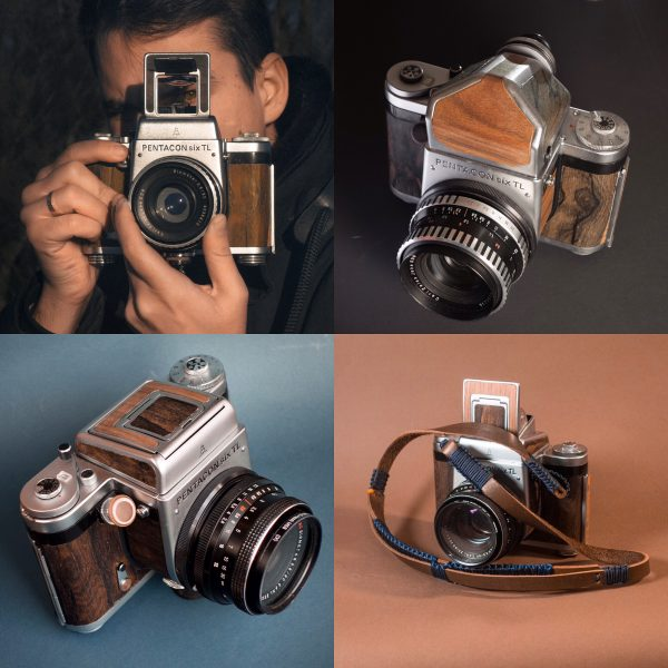 Pentacon-six-camera-wood