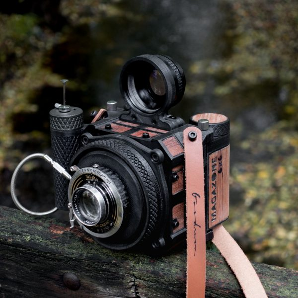 analog photography with 3D printed camera